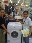 November 2012 - Linda & Judy Purchasing a New Washing Machine for Sunshine Village