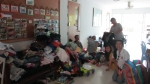 November 2011 - All of the donated clothes, games, toys, etc that was brought over to Thailand.